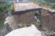 Akses Padang-Bukittingi Rusak, Pemerintah Bangun Jembatan Sementara