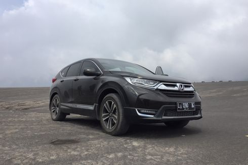 Eksplorasi CR-V 1.5 Turbo di Gunung Bromo