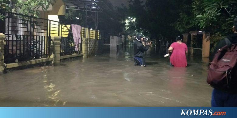 Sering Banjir, Warga Ciracas Tagih Janji Pemprov Bangun Waduk