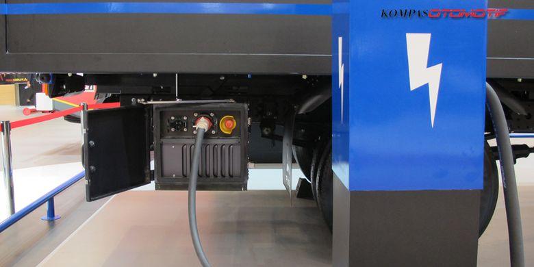 Truk listrik Mitsubishi Fuso E-Canter