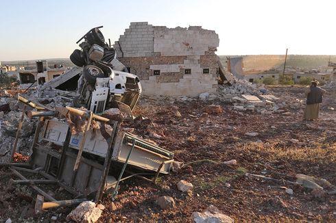 Serangan Udara Rusia di Suriah Tewaskan 10 Warga Sipil
