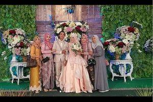 Unik, Pernikahan Dua Mempelai Anies dan Jokowi di Madura