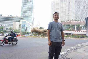 Seniman Getih Getah Sebut Polusi Udara Jakarta Bikin Karyanya Cepat Rapuh