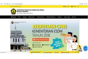 Kementerian ESDM Buka 65 Formasi untuk CPNS 2018, Ini Jurusan yang Dibutuhkan