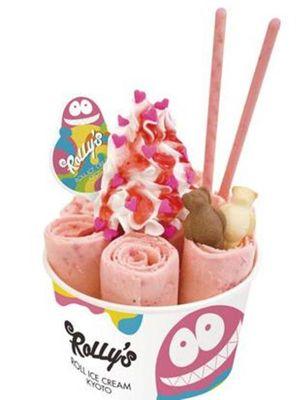 Strawberry Love (842 yen).