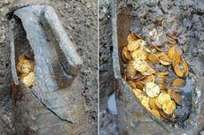 Ratusan Koin Emas Ditemukan, Bukti Runtuhnya Kekaisaran Romawi?