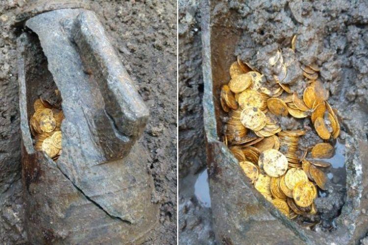 300 koin emas era Romawi kuno