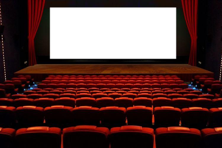 Ilustrasi bioskop.
