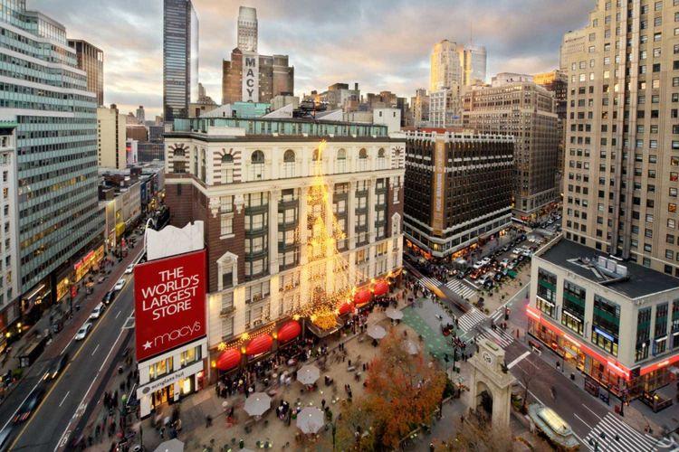 New York City, New York menjadi destinasi wisata belanja favorit wisatawan.