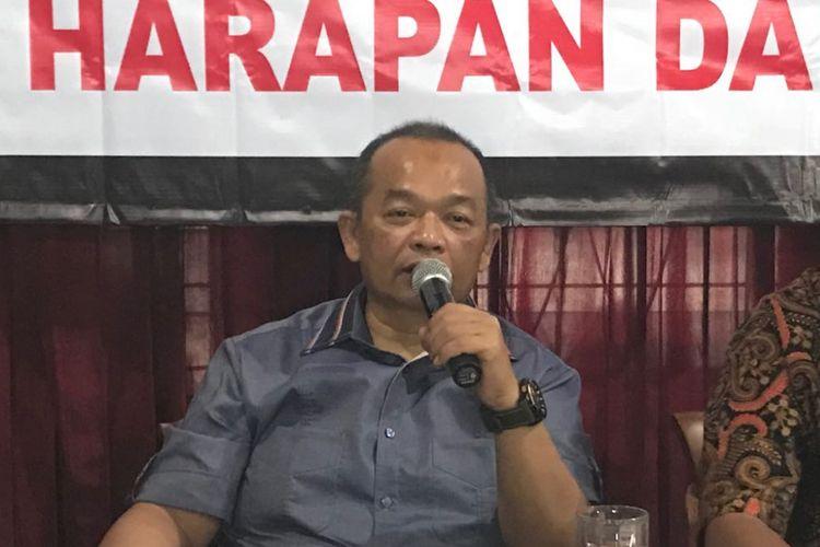 Ketua Tim Sukses Airlangga Hartarto, Happy Bone Zulkarnaen.