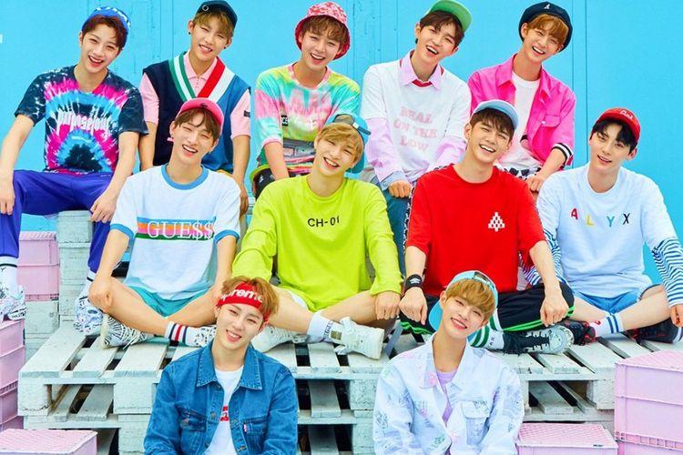 Boyband Wanna One dibentuk dari program Produce 101 Season 2.