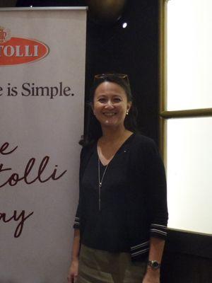 Sport Nutritionis sekaligus disease prevention Emilia Elfiranti Achmadi  wawancara khusus yang digelar oleh merek minyak zaitun Bertolli di Plaza Senayan, Rabu (19/12/2018).