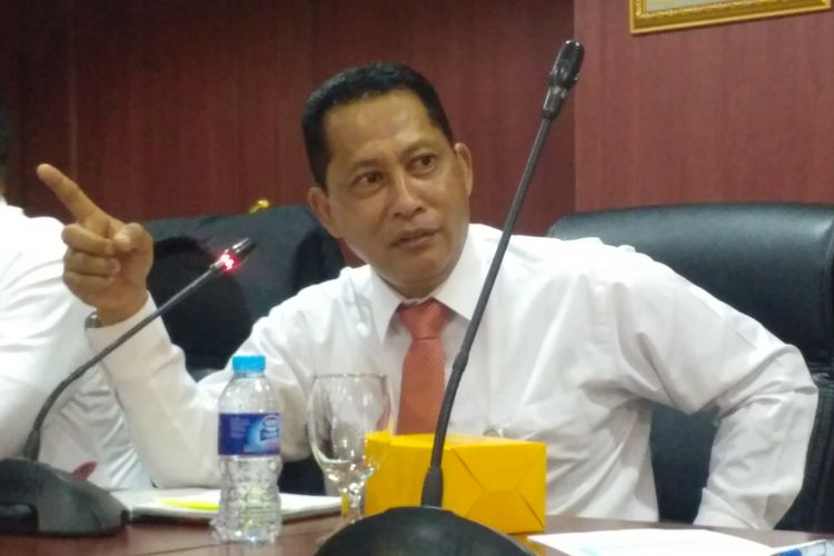 Direktur Utama Perum Bulog Komjen (Purn) Budi Waseso