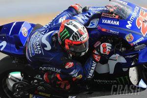 Marquez Jatuh, Vinales 'Pole Position' di Valencia