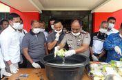 Selamatkan 114.000 Jiwa, Polres Karimun Musnahkan 19 Kg Sabu