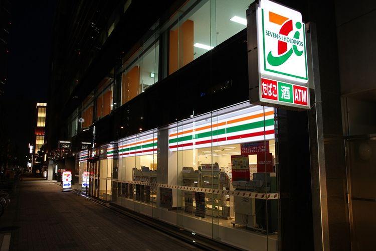 Ilustrasi minimarket di Jepang.