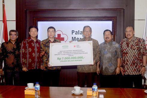 Yayasan Korindo Sumbang Multipleks untuk Korban Gempa Sulawesi Tengah