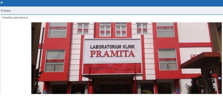 Potongan harga di Laboratorium Klinik Pramita bagi pelanggan KA komersial
