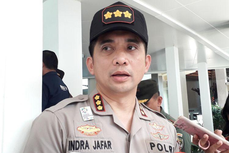 Kapolres Jaksel Kombes Pol Indra Jafar, di Lapangan Golf Pondok Indah, Senin (6/8/2018)