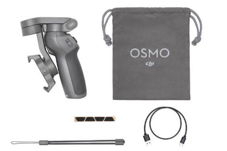 Ilustrasi Osmo Mobile 3 saat dilipat
