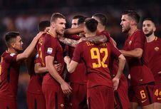 Hasil Liga Italia, AS Roma Jauhi Rival Sekota