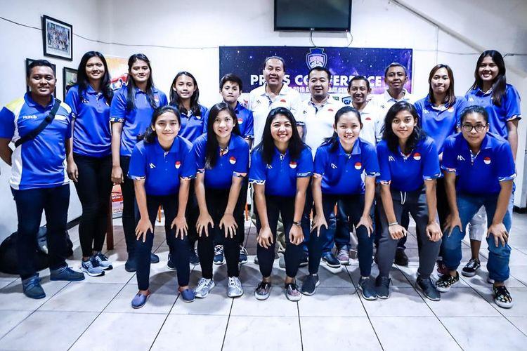 Skuad klub basket putri Sahabat Semarang, tuan rumah Seri Ketiga Srikandi Cup pada 1 April 2019 sampai dengan 6 April 2019.