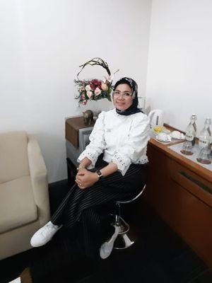 Retno Setyas Tuti. Gambar diambil pada Jumat (13/11/2020)
