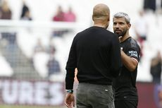Susunan Pemain Man City Vs Tottenham, Sergio Aguero Starter