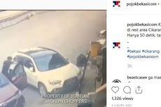 Pencuri Modus Pecah Kaca Mobil Gunakan Busi yang Diemut Lebih Dulu