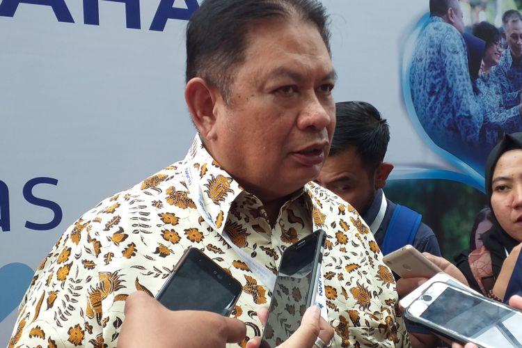 Direktur Utama Taspen, Iqbal Lantoro.