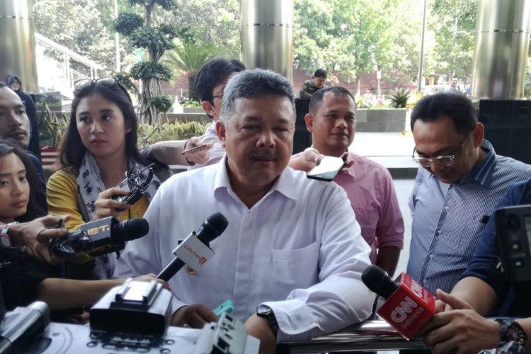 Wali Kota Solok Zul Elfian mendatangi gedung Merah Putih Komisi Pemberantasan Korupsi (KPK), Rabu (12/9/2018).