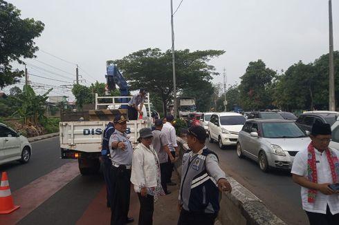 Jalan I Gusti Ngurah Rai Sering Macet, Putaran Depan Stasiun Buaran Lama Dibuka