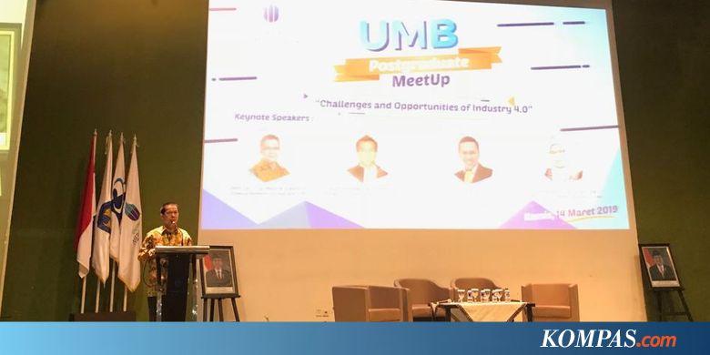 "Kompetensi dan ""Entrepreneurship"" Kunci UMB Masuki Era Industri 4.0"