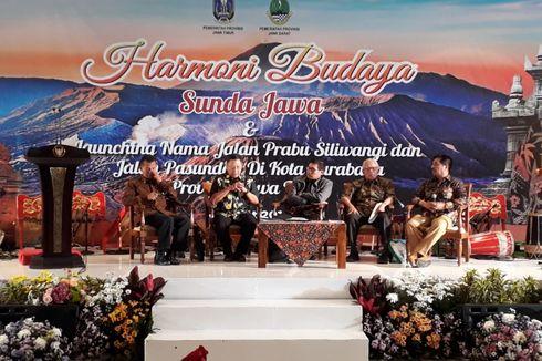 Rekatkan Harmoni Jawa-Sunda, Dua Nama Jalan di Surabaya Diganti