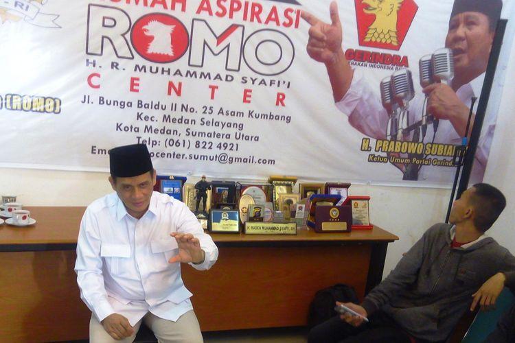 Dewan Penasehat DPP Partai Gerindra Raden Muhammad Syafii