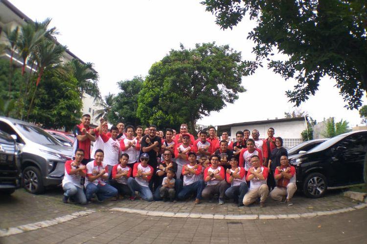 MIXI chapter Jakarta Raya saat deklarasi di Restoran Sunda Sambara, Cipete, Jakarta Selatan.