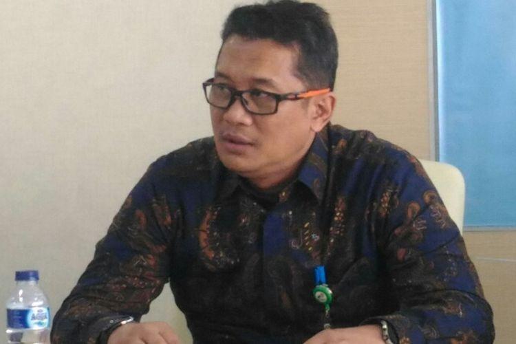 Direktur Utama PT Pelita Air Service Dani Adriananta. Foto diambil di Jakarta pada Rabu (9/5/2018).