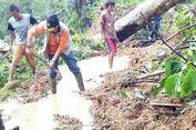 Longsor, 2 Kecamatan di OKU Selatan Terisolir Selama 11 Jam