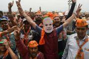 Pemilu India, Modi Kejutkan Oposisi dengan Kemenangan Besar di Depan Mata