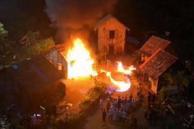 Syuting Adegan Kebakaran, 31 Aktor Terluka Akibat Api yang Menjalar