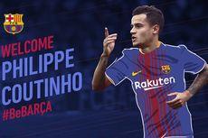 Resmi, Philippe Coutinho Gabung ke Barcelona