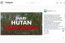 Saat Pesohor Bersatu di Petisi #JagaHutan, demi 'Hari Hutan Indonesia'