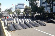 Jelang Kedatangan Prabowo ke MK, Begini Kondisi Jalan Medan Merdeka Barat