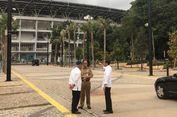 Naik Satu Mobil, Jokowi, Anies dan Basuki Tinjau Rute Atlet Asian Games