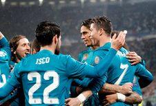 Hasil Liga Champions, Real Madrid Menang Telak di Kandang Juventus