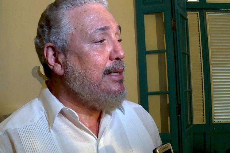 Fidel Castro Diaz-Balart, putra sulung mendiang Pemimpin Kuba, Fidel Castro.