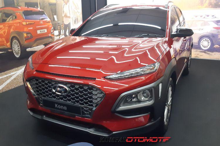 Hyundai Kona meluncur di IIMS 2019