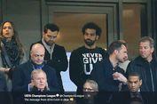 Liverpool Vs Barcelona, Dukungan Mohamed Salah via Kaus yang Dikenakan
