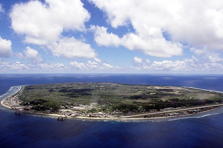 Negeri kecil Nauru yang kini digunakan Australia sebagai pusat detensi pengungsi dan pencari suaka.