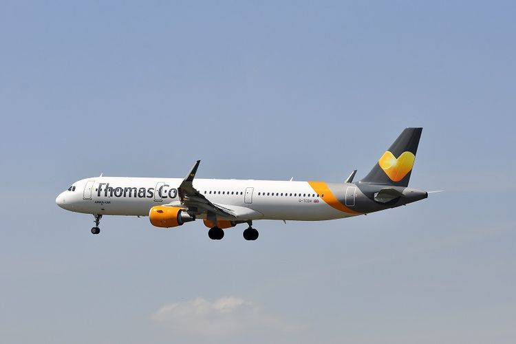 Maskapai penerbangan Thomas Cook.